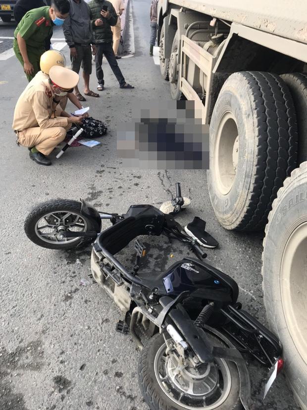 Nữ sinh lớp 9 bị ô tô tải tông chết thảm trên đường đi học thêm - Ảnh 3.