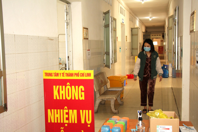 Bên trong khu điều trị cách ly tại Bệnh viện dã chiến Chí Linh - Ảnh 7.