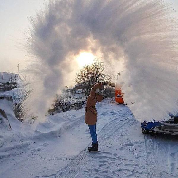 سرد ثبت منفی 40 درجه ، روسیه امروز چگونه است؟  تصویر 6