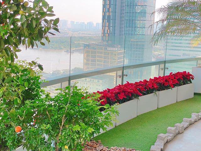 Nhìn từ ban công nhà hoa hậu Đặng Thu Thảo ai cũng thừa nhận biệt thự có view đẹp ngất ngây - Ảnh 7.