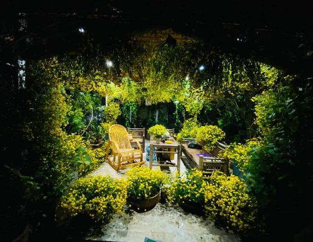 باغ گل غول پیکر در تراس خانمی از هانوی - تصویر 11.