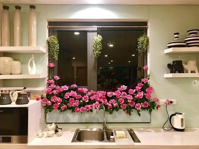 باغ گل غول پیکر در تراس خانمی از هانوی - تصویر 15.