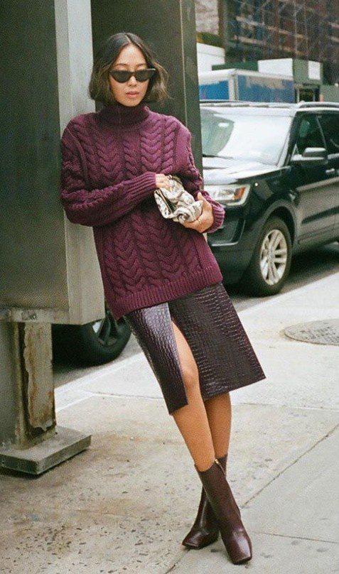 چگونه در زمستان هانوی لباس گرم اما شیک بپوشیم - عکس 9.