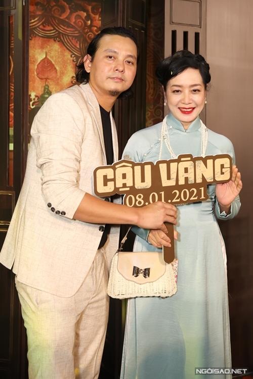 زوج Tang Thanh Ha در حال تماشای فیلم Cau Vang - تصویر 4.