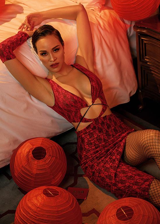 Chồng Tây khuyến khích Phương Mai mặc sexy - Ảnh 4.