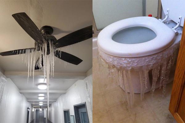Hình ảnh người dân Texas oằn mình trong bão tuyết kỷ lục, đồ đạc trong nhà đóng băng, người dân chết vì mất điện - Ảnh 6.