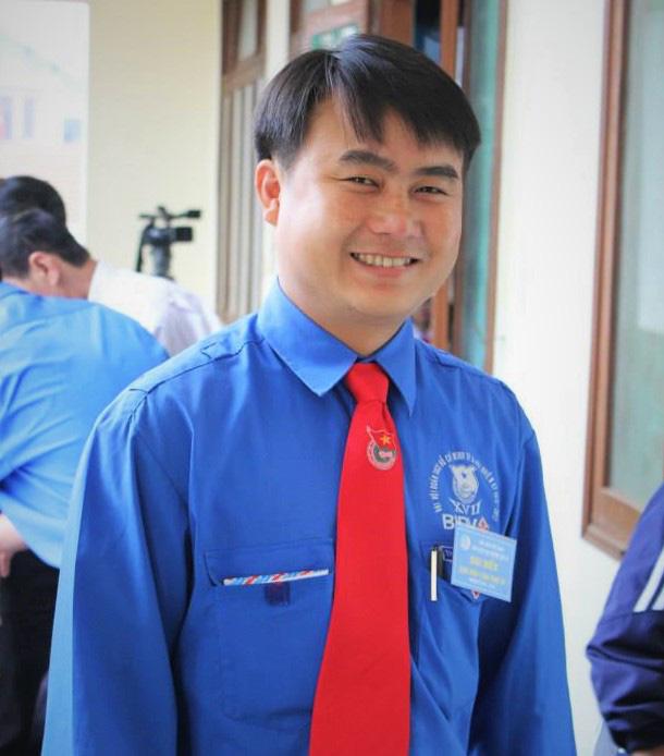 Anh Ngô Văn Mạnh đã có 16 năm liên tục hiến máu cứu người.