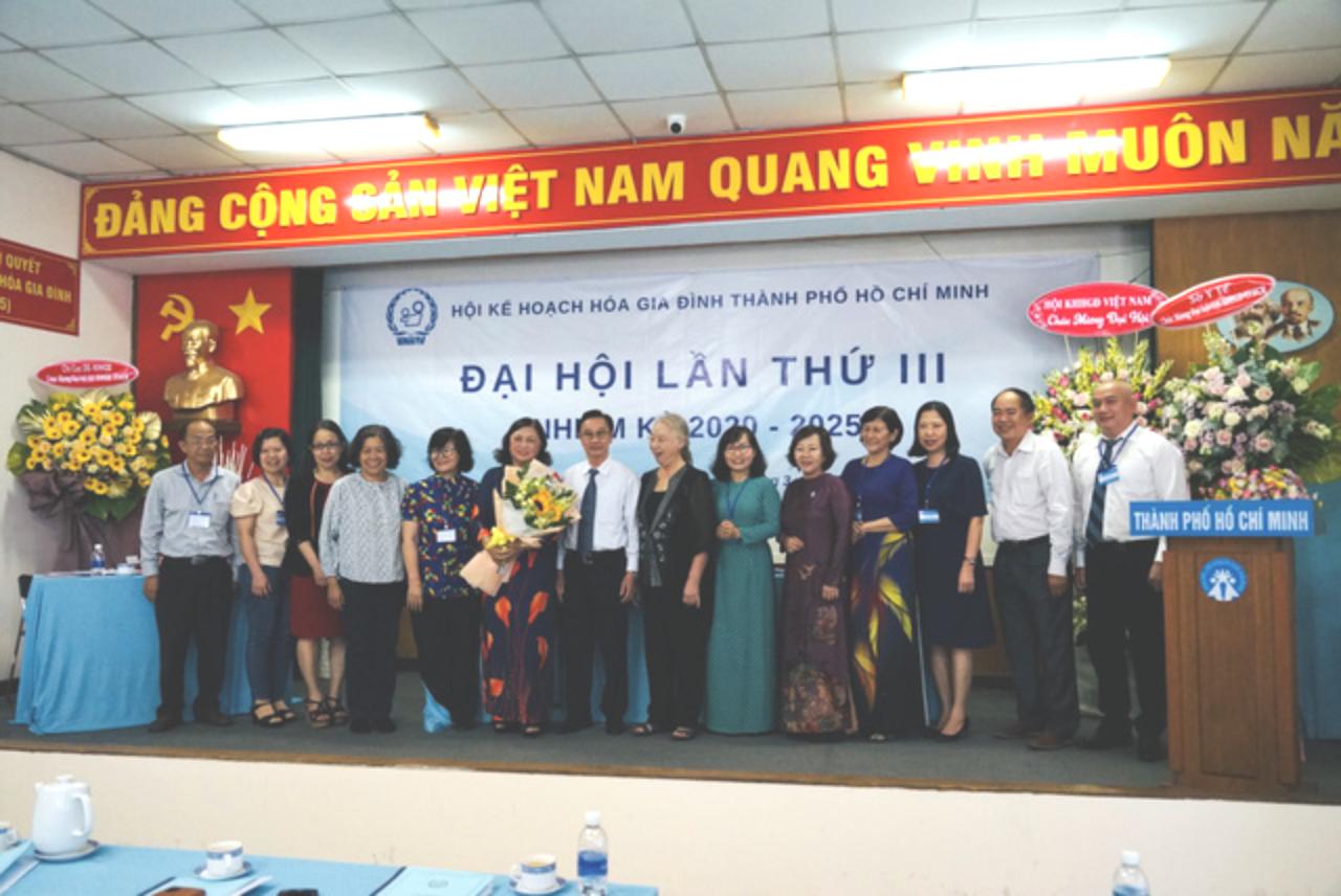 Hội KHHGĐ TP.HCM tổ chức thành công Đại hội đại biểu nhiệm kỳ III - Ảnh 3.