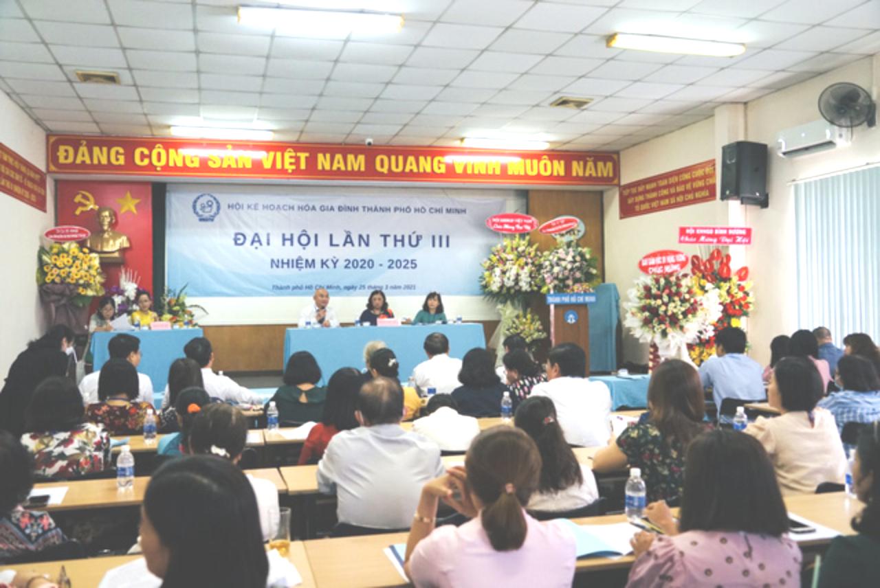 Hội KHHGĐ TP.HCM tổ chức thành công Đại hội đại biểu nhiệm kỳ III - Ảnh 1.