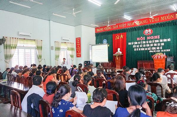 Quảng Trị thực hiện tốt công tác dân số trong tình hình mới - Ảnh 2.