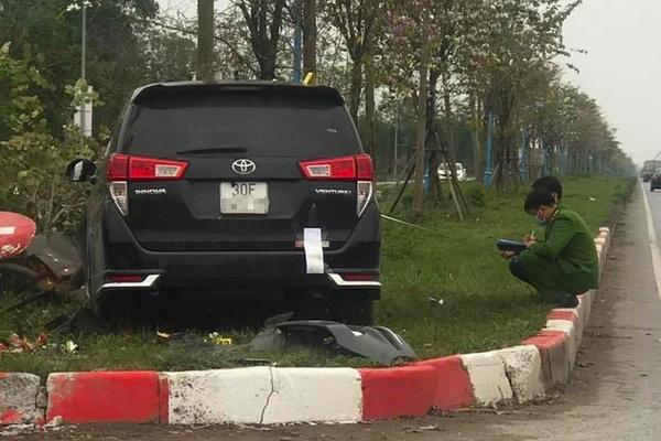 Ô tô đâm điên loạn khiến ba người thương vong ở Hà Nội - Ảnh 1.