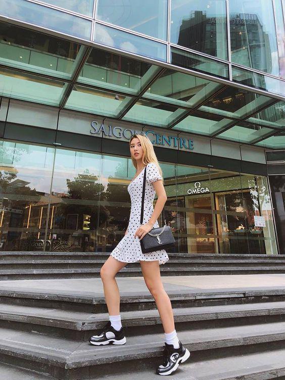 Muốn đôi chân đến sở làm thoải mải mà vẫn hợp mốt, nàng công sở tham khảo ngay 3 mẫu giày bệt dưới đây - Ảnh 5.
