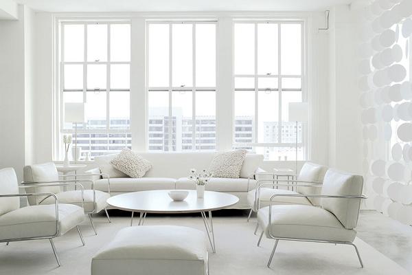 Vì sao không nên thiết kế nội thất toàn màu trắng? - Ảnh 1.