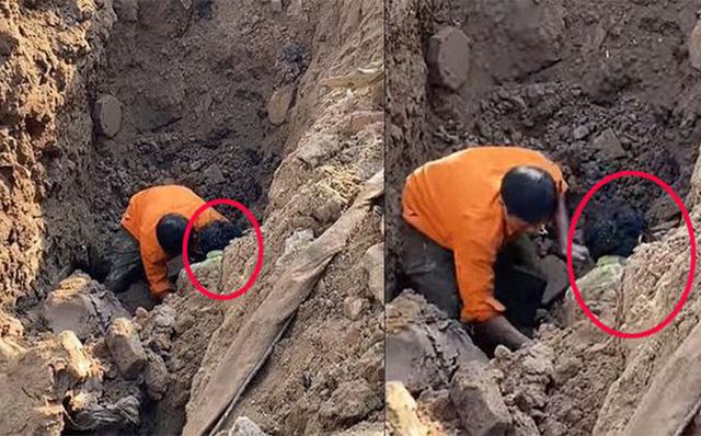 Người đàn ông đào được dưới hố sâu 2 mét hiện ra sao? - Ảnh 2.