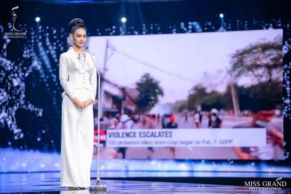 Nhan sắc Hoa hậu Hòa bình Myanmar bị truy nã - Ảnh 5.