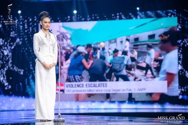 Nhan sắc Hoa hậu Hòa bình Myanmar bị truy nã - Ảnh 6.