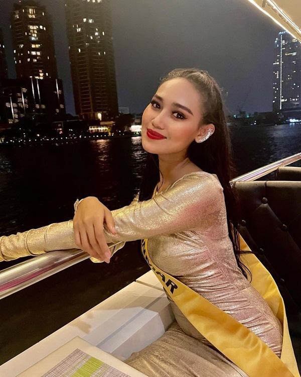 Nhan sắc Hoa hậu Hòa bình Myanmar bị truy nã - Ảnh 9.