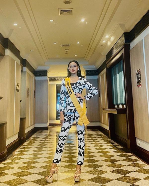 Nhan sắc Hoa hậu Hòa bình Myanmar bị truy nã - Ảnh 10.