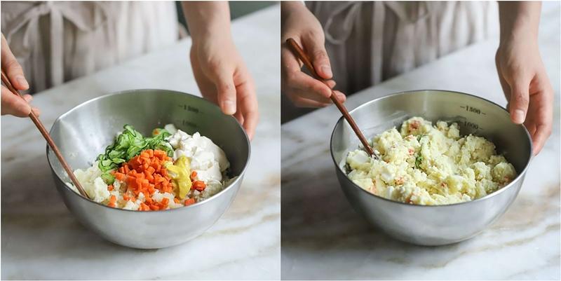 Salad khoai tây món ngon cho bữa tối giảm cân - Ảnh 9.
