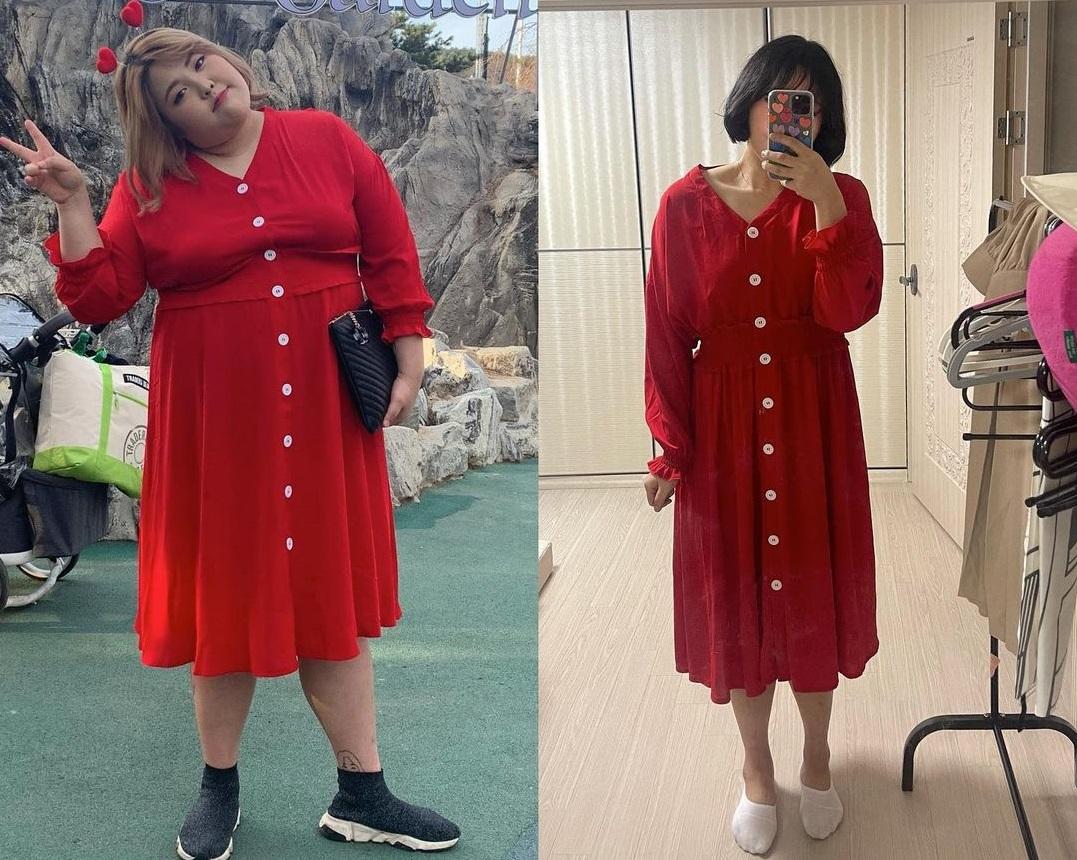 """""""Thánh ăn"""" Hàn Quốc diện đẹp không sót style nào sau khi giảm 55kg - Ảnh 1."""