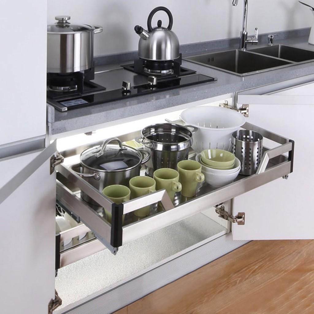 8 món nội thất giúp tiết kiệm không gian cho nhà bếp nhỏ - Ảnh 5.