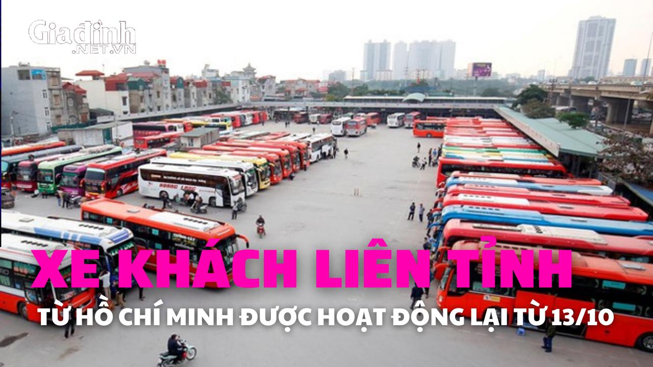 TP. Hồ Chí Minh: Xe khách chạy liên tỉnh từ ngày mai (13/10)