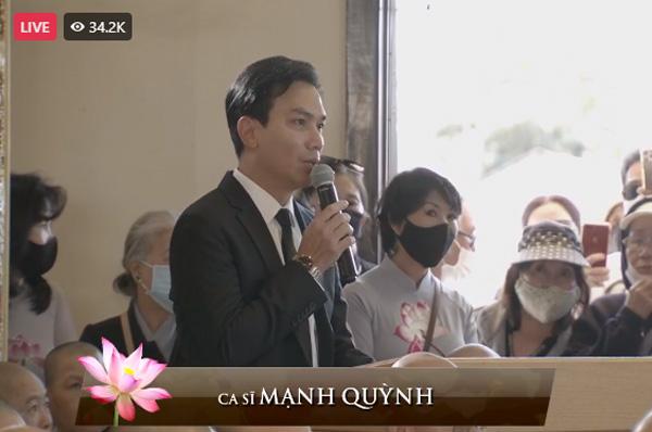 """Tang lễ ca sĩ Phi Nhung ở Mỹ: """"Người tình sân khấu"""" Mạnh Quỳnh nói về nỗi hàm oan của giọng ca bạc mệnh - Ảnh 3."""