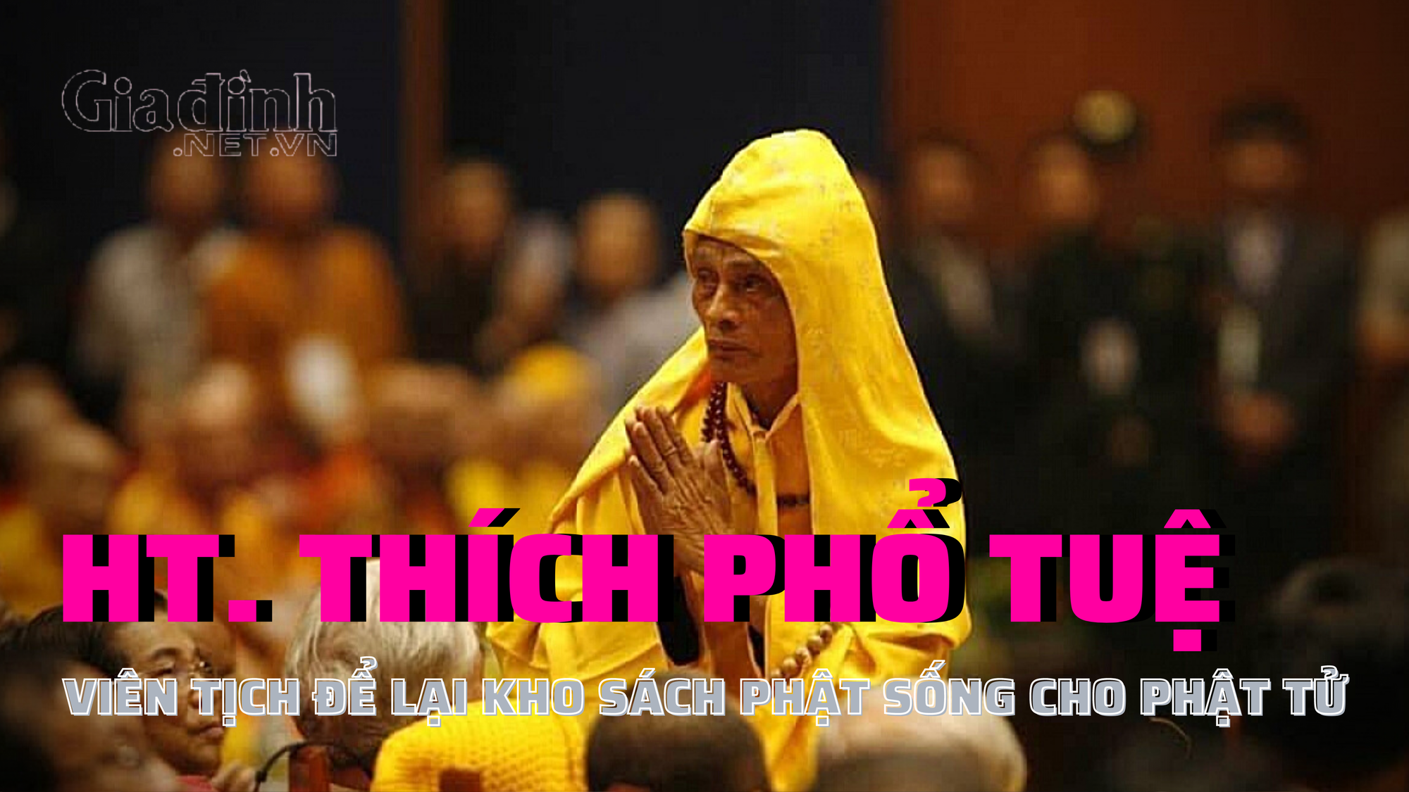 Pháp chủ Giáo hội Phật giáo Việt Nam viên tịch để lại kho sách quý cho các phật tử