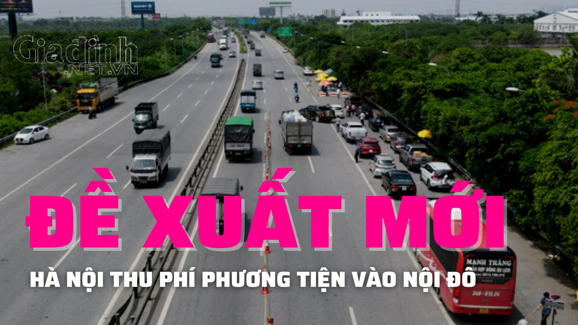Hà Nội dự kiến thu phí xe vào nội đô từ 2025