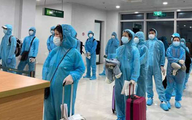 Hai trường hợp dương tính SARS-CoV2 trên chuyến bay từ Nhật Bản được cách ly ngay tại Nghệ An
