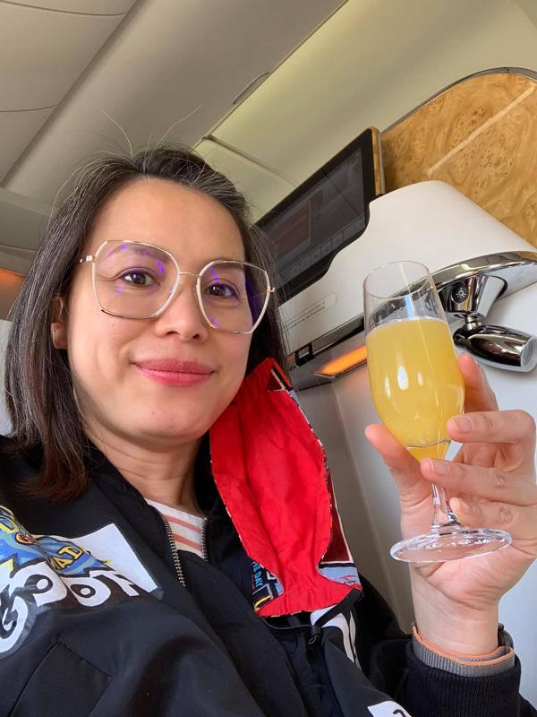 Ngỡ ngàng nhan sắc Hoa hậu Ngọc Khánh khi trở về Việt Nam - Ảnh 5.
