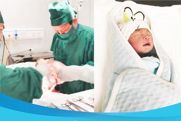 Người phụ nữ Thanh Hoá 61 tuổi sinh con khoẻ mạnh - Ảnh 1.