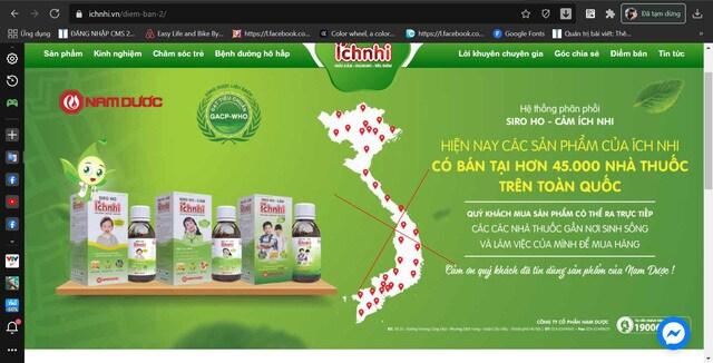 Sử dụng bản đồ Việt Nam không có Hoàng Sa - Trường Sa để quảng cáo, Nam Dược đang kinh doanh thế nào? - Ảnh 3.