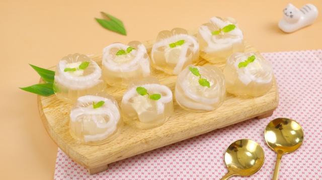 Món ăn mùa hè: Bí quyết hô biến bột rau câu thành món ăn vặt ngon mắt - lạ miệng, ai cũng mê! - Ảnh 2.