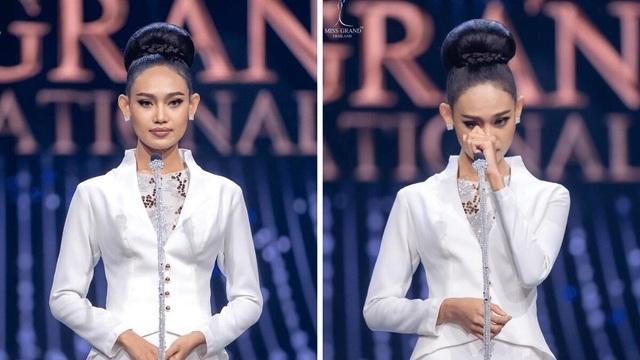 Đại diện Myanmar có hành động bất ngờ tại Miss Universe, fan lo ngại khó có cửa về nước - Ảnh 6.