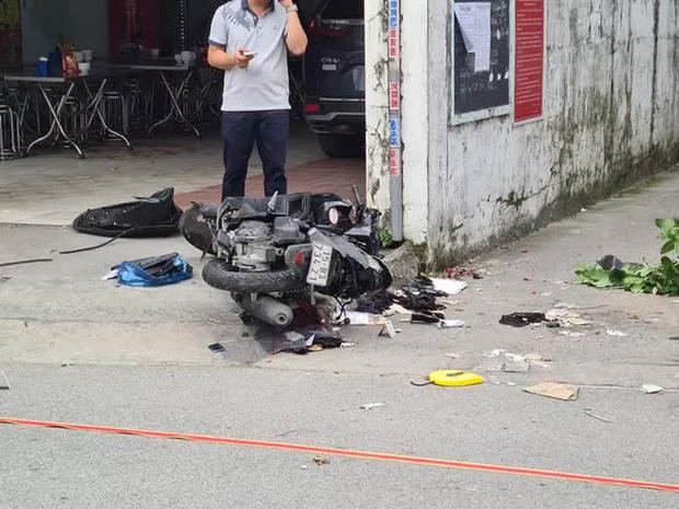 Điều tra vụ ô tô truy đuổi, tông thẳng vào xe máy, chèn qua làm 2 người tử vong - Ảnh 2.