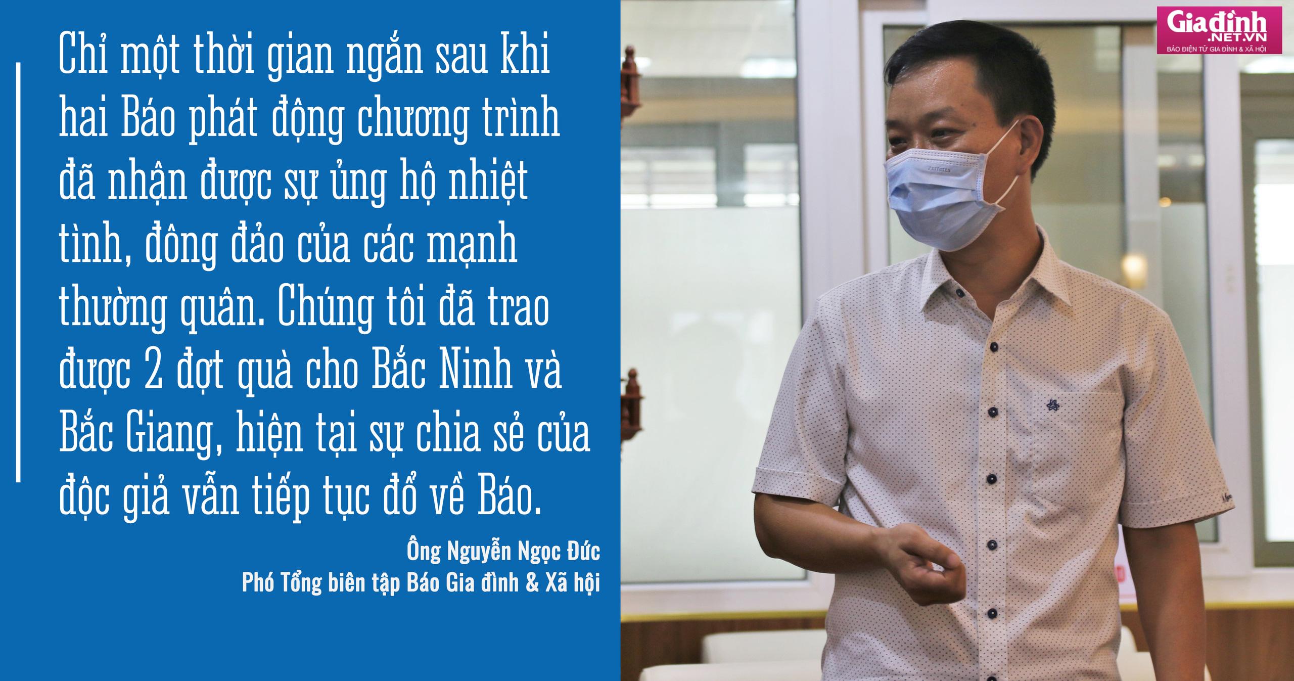 Báo Sức khỏe & Đời sống và Báo Gia đình & Xã hội kêu gọi hơn 1,8 tỷ đồng hỗ trợ Bắc Giang, Bắc Ninh chống dịch - Ảnh 6.