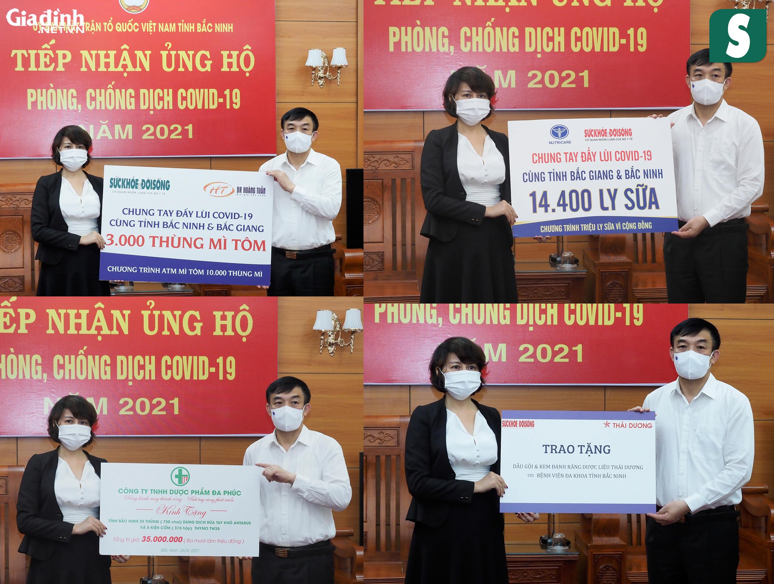 Báo Sức khỏe & Đời sống và Báo Gia đình & Xã hội kêu gọi hơn 1,8 tỷ đồng hỗ trợ Bắc Giang, Bắc Ninh chống dịch - Ảnh 11.
