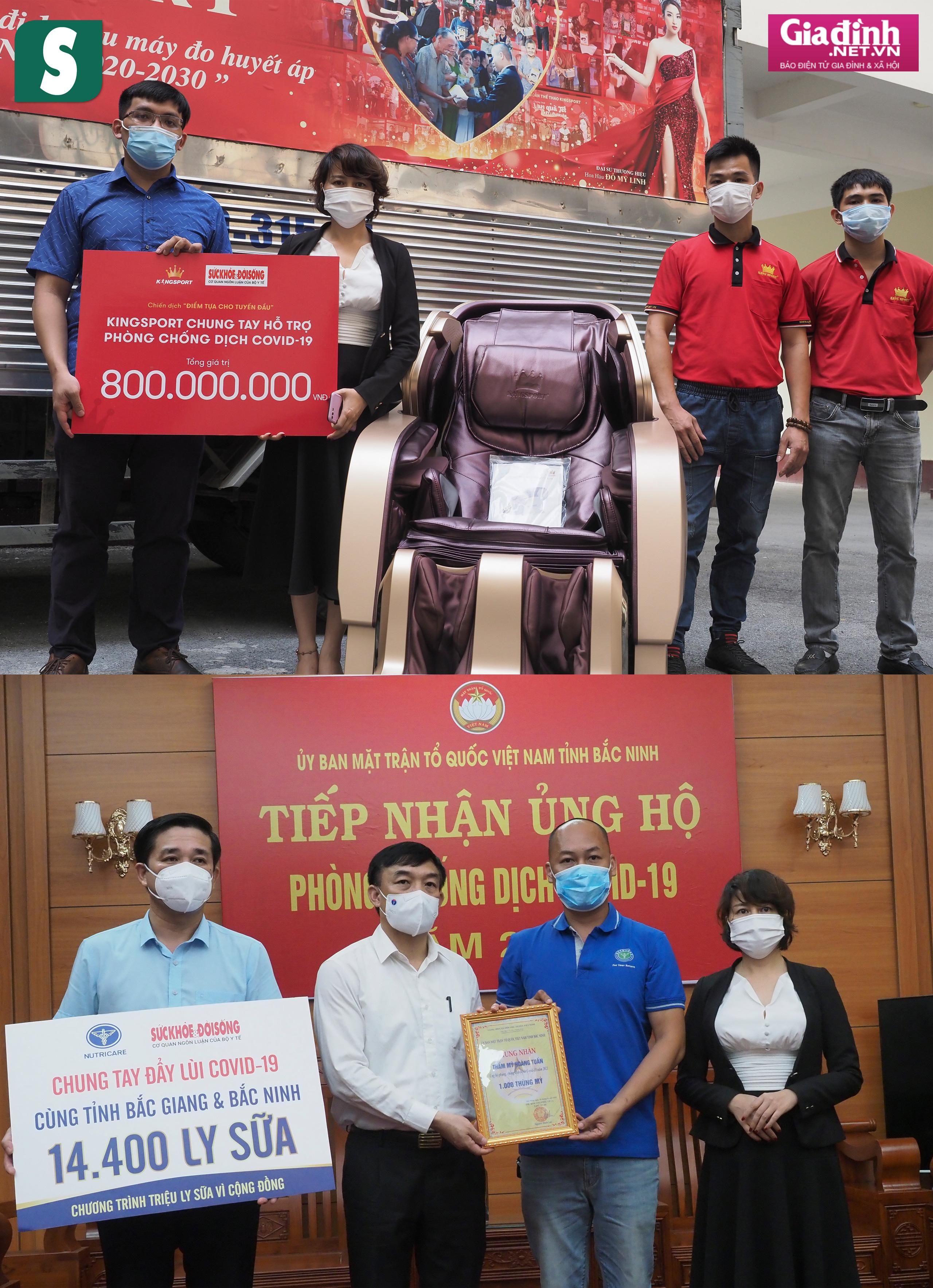 Báo Sức khỏe & Đời sống và Báo Gia đình & Xã hội kêu gọi hơn 1,8 tỷ đồng hỗ trợ Bắc Giang, Bắc Ninh chống dịch - Ảnh 12.