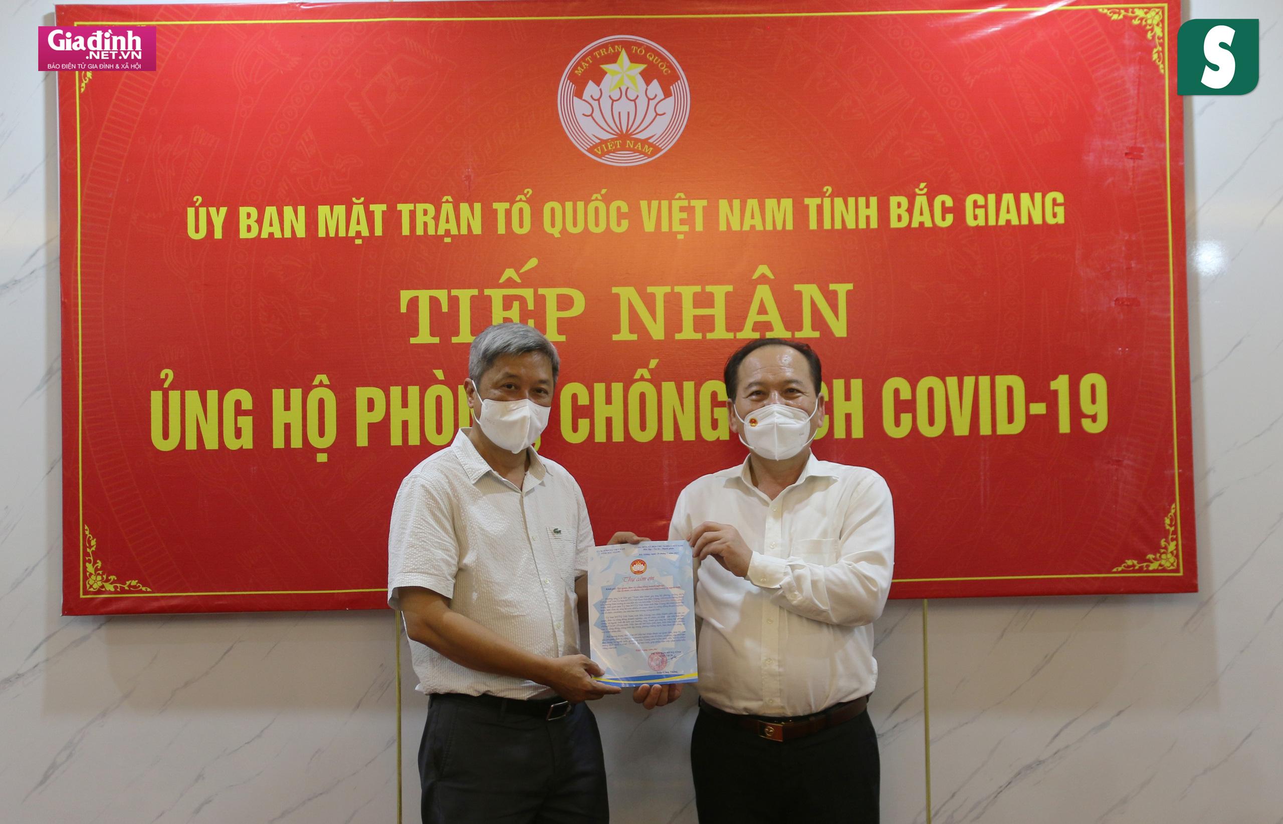 Báo Sức khỏe & Đời sống và Báo Gia đình & Xã hội kêu gọi hơn 1,8 tỷ đồng hỗ trợ Bắc Giang, Bắc Ninh chống dịch - Ảnh 7.