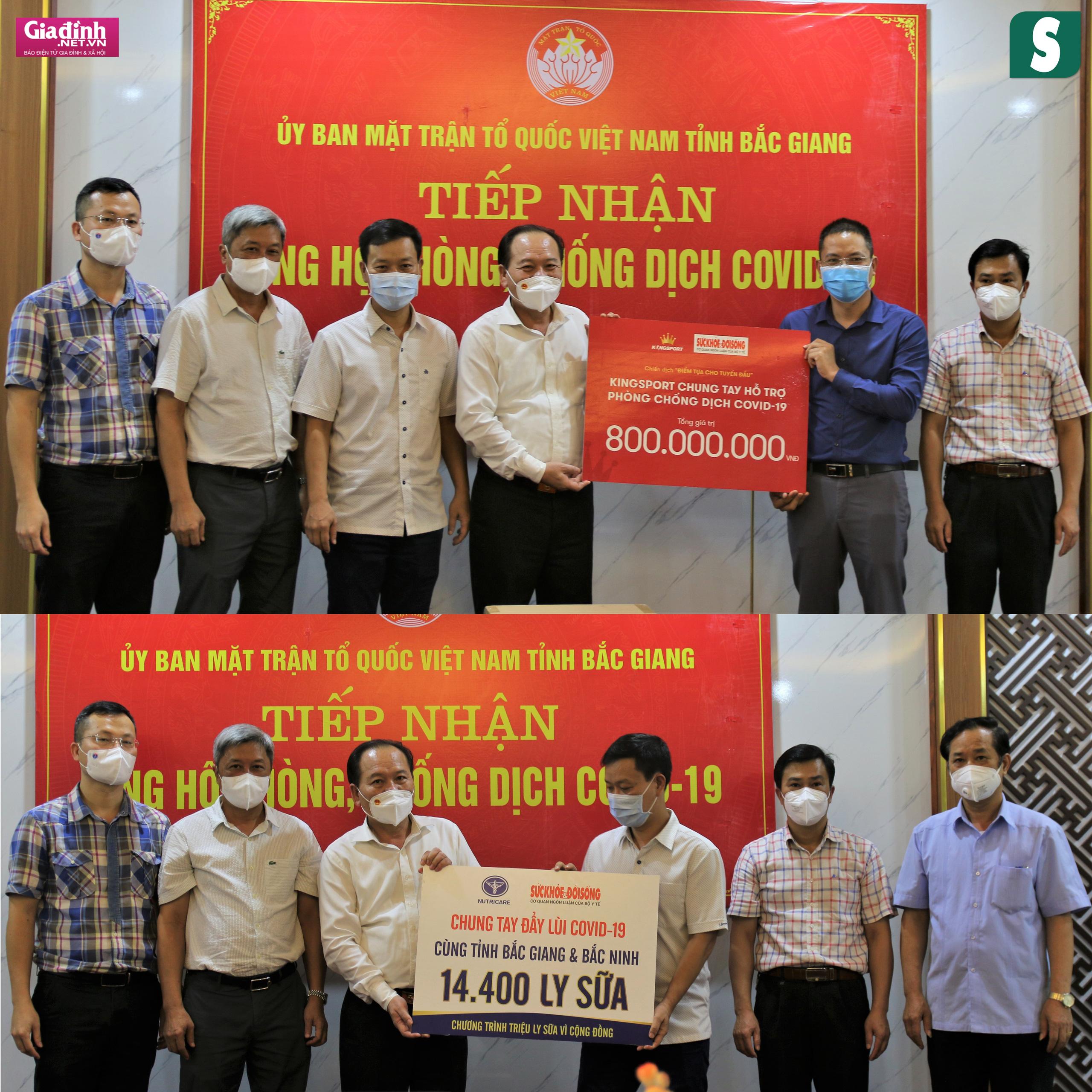Báo Sức khỏe & Đời sống và Báo Gia đình & Xã hội kêu gọi hơn 1,8 tỷ đồng hỗ trợ Bắc Giang, Bắc Ninh chống dịch - Ảnh 5.