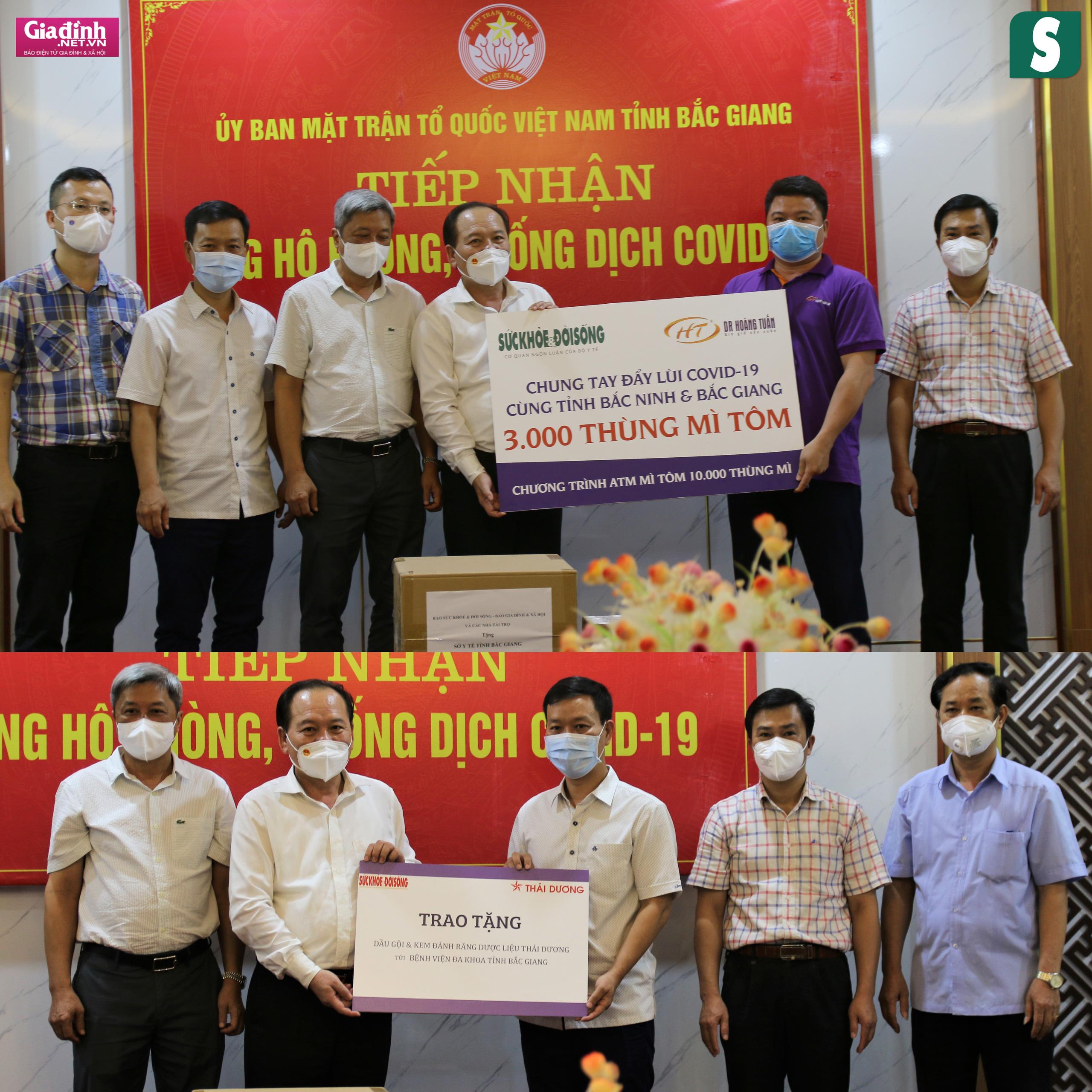 Báo Sức khỏe & Đời sống và Báo Gia đình & Xã hội kêu gọi hơn 1,8 tỷ đồng hỗ trợ Bắc Giang, Bắc Ninh chống dịch - Ảnh 8.