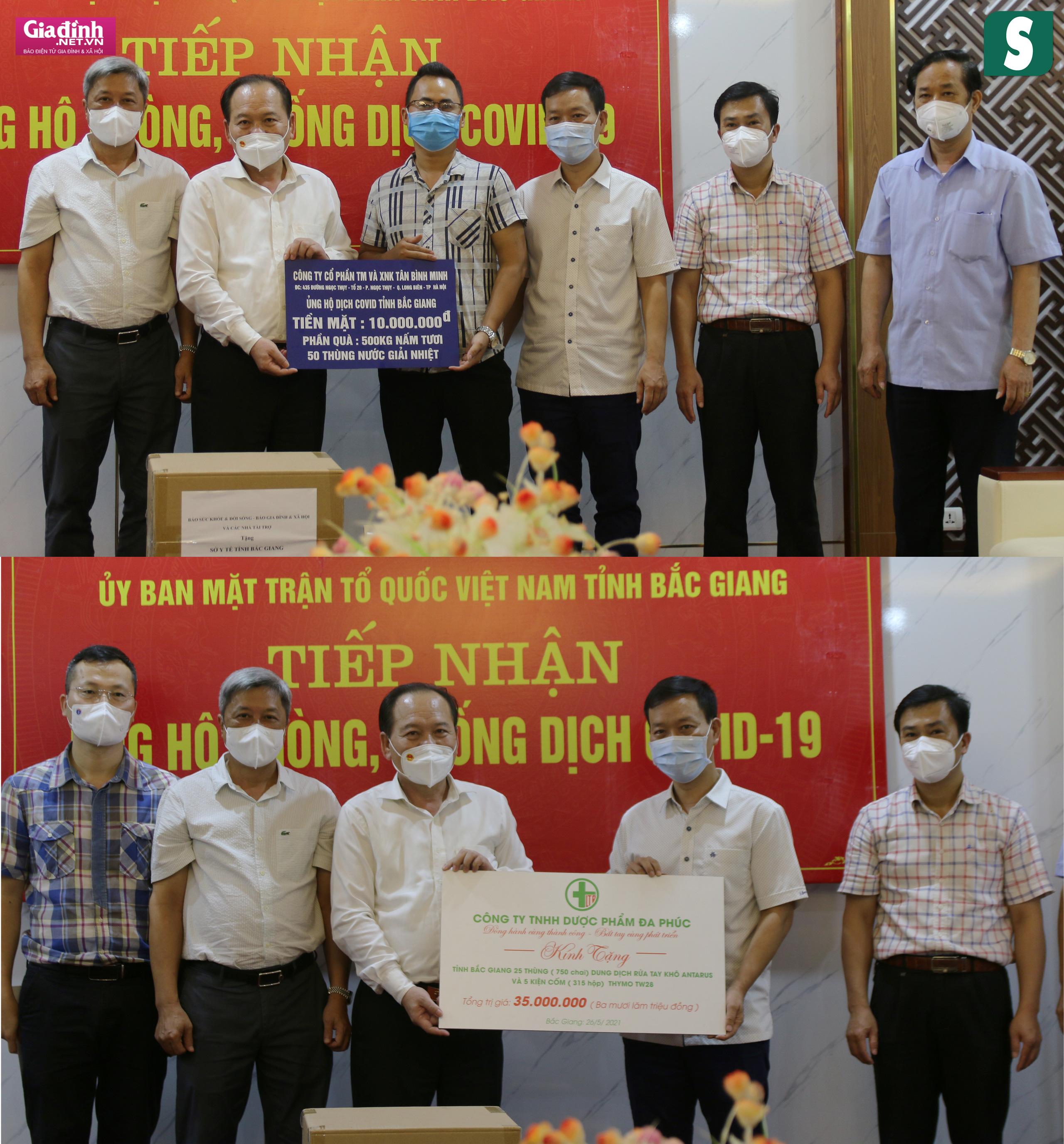 Báo Sức khỏe & Đời sống và Báo Gia đình & Xã hội kêu gọi hơn 1,8 tỷ đồng hỗ trợ Bắc Giang, Bắc Ninh chống dịch - Ảnh 10.