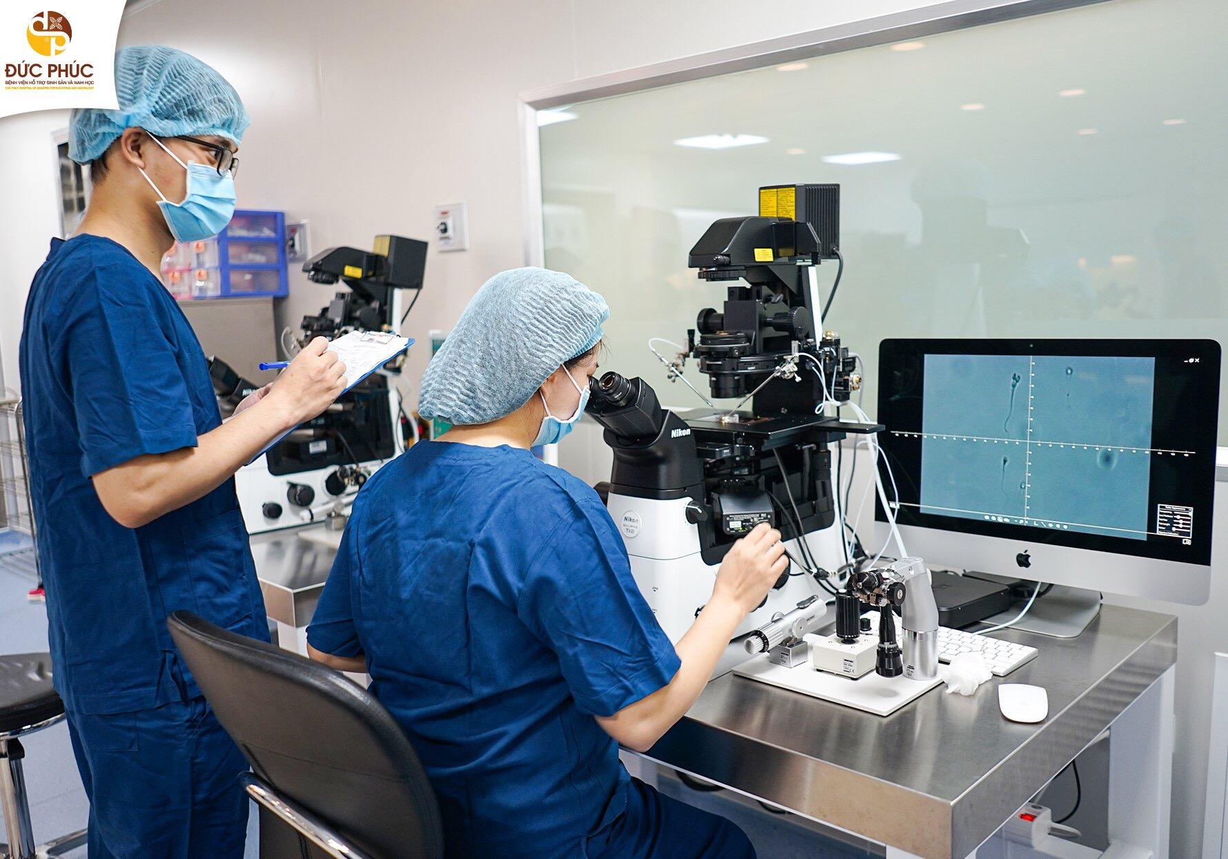 Cận cảnh căn phòng thụ tinh ống nghiệm IVF hiện đại nhất miền Bắc