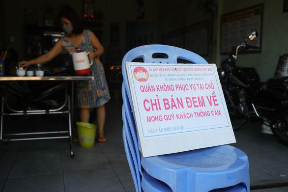 Từ trưa mai, Đà Nẵng cấm cửa hàng, quán ăn phục vụ khách tại chỗ - Ảnh 3.