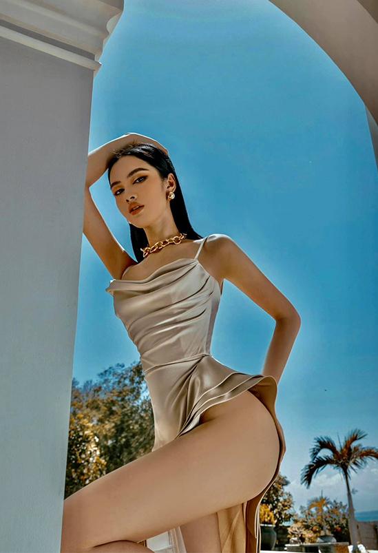 Người đẹp Cẩm Đan - Top 15 Hoa hậu Việt Nam: Tôi không muốn sống dựa vào ai - Ảnh 4.