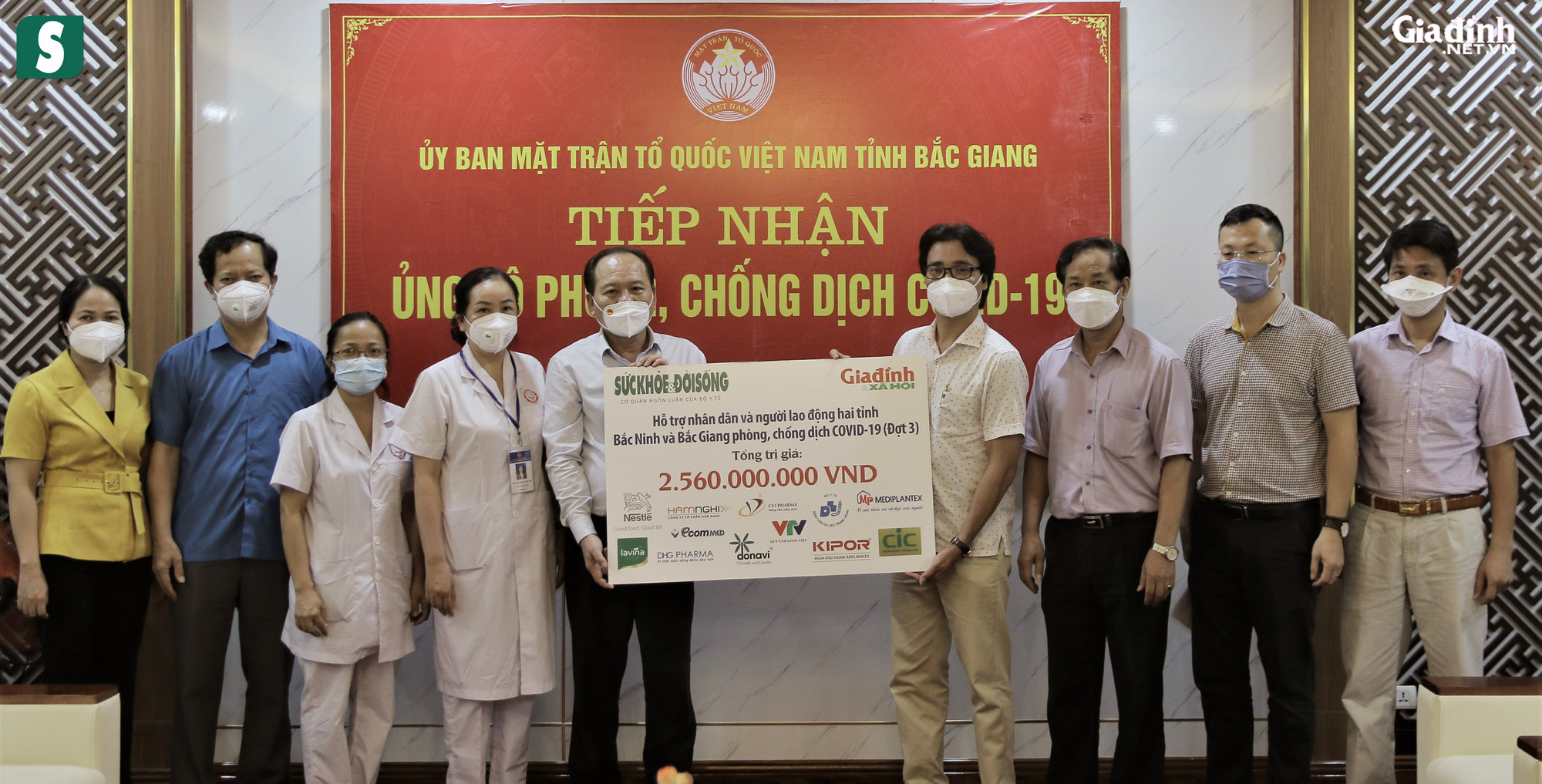 Hơn 2,5 tỷ đồng gửi tới tuyến đầu chống dịch Bắc Giang, Bắc Ninh - Ảnh 4.