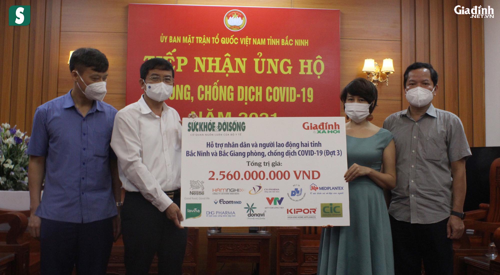 Hơn 2,5 tỷ đồng gửi tới tuyến đầu chống dịch Bắc Giang, Bắc Ninh - Ảnh 11.