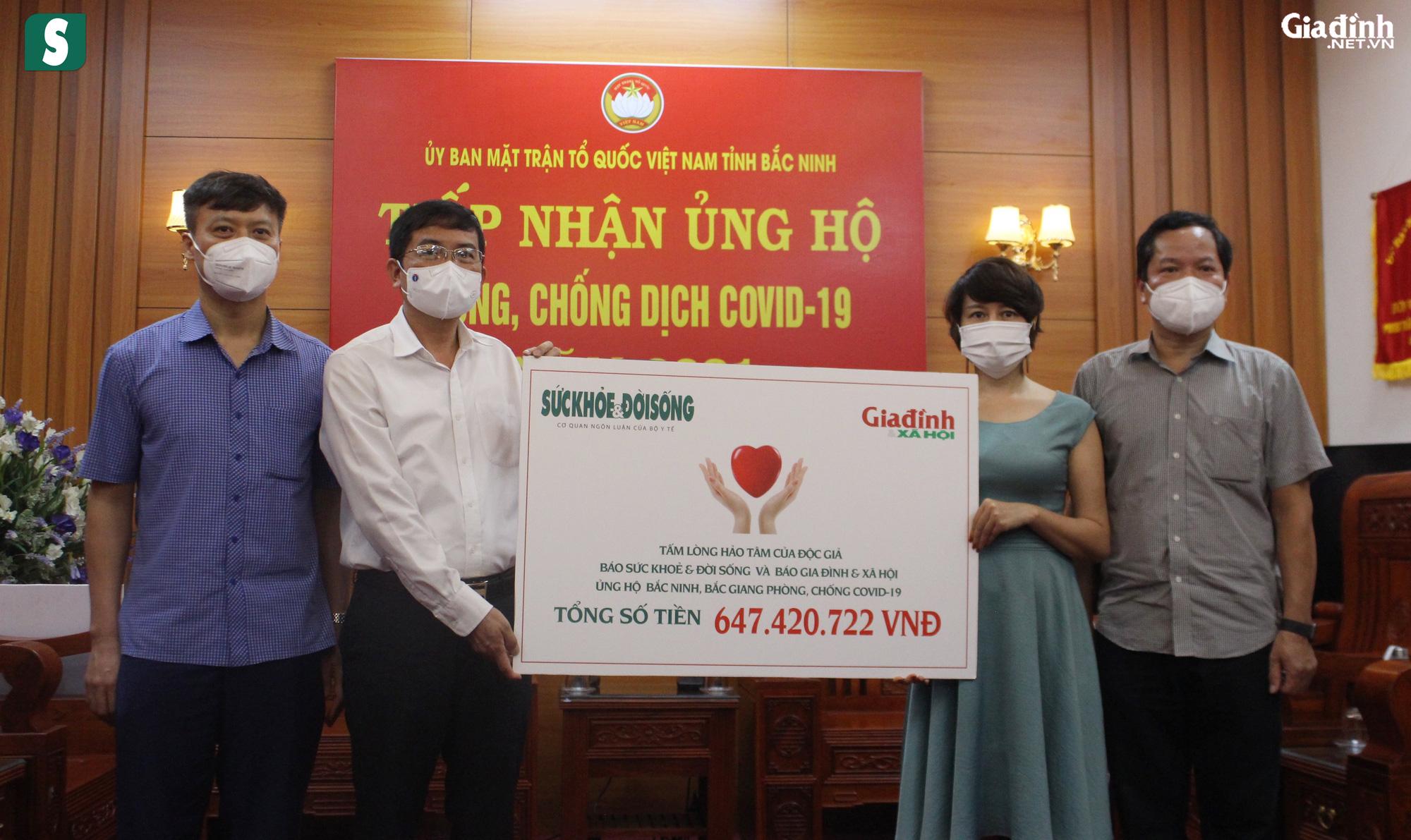 Hơn 2,5 tỷ đồng gửi tới tuyến đầu chống dịch Bắc Giang, Bắc Ninh - Ảnh 12.