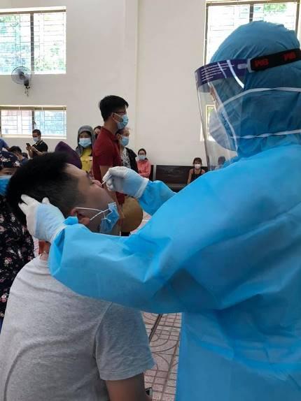 Xác định 103 trường hợp F1 có nguy cơ cao của bệnh nhân COVID-19 ở Diễn Châu - Ảnh 3.